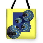 Light And Flow Tote Bag