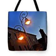Light And Moon In B.bystrica Tote Bag