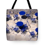 Light And Shadow In Hydra Island Tote Bag