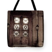 Light And Shadows In Paris Tote Bag