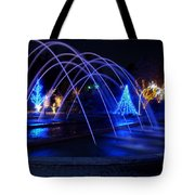 Light And Water In Motion Tote Bag