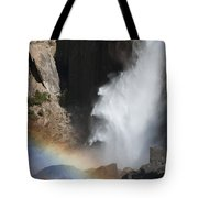 Light And Water - Yosemite Falls Tote Bag