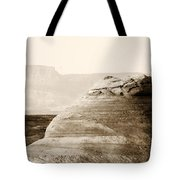 Light Around The Curve Tote Bag