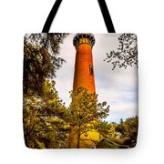 Light At Currituck Tote Bag