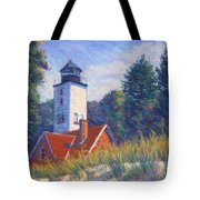Light At Presque Isle Tote Bag
