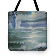 Light At Sea Tote Bag