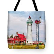 Light At Seul Choix Point Tote Bag
