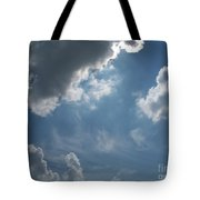 Light Beyond By Diane Schiabor Tote Bag