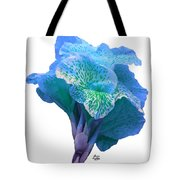 Light Blue Iris Tote Bag