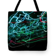 Light Explosion 10 Tote Bag
