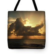 Light Explosion Tote Bag