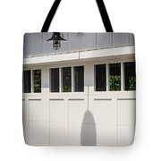Light Fixture Abstract Tote Bag