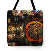 Light Fixtures Tote Bag