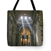 Light From Above Tote Bag