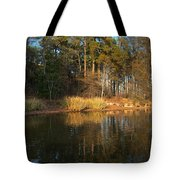 Light From The Golden Hour Tote Bag