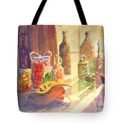 Light From The Window Tote Bag