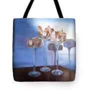 Light Glass And Shells Tote Bag