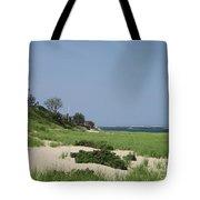 Light House Beach Tote Bag