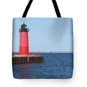 Light House Lake Michigan Tote Bag