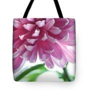 Light Impression. Pink Chrysanthemum  Tote Bag