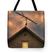 Light In Attic Window Tote Bag