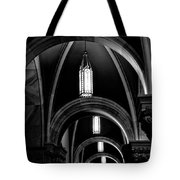 Light In The Basilica Tote Bag