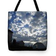 Light In The Sky Tote Bag