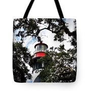 Light In The Trees Tote Bag