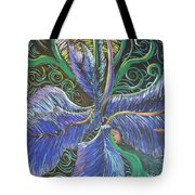 Light Into The Bloom Tote Bag