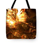 Light Kissing The Dark Tote Bag