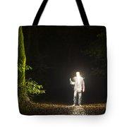 Light Man Tote Bag