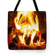Light My Fire I Tote Bag