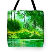 Light N Greens R Tote Bag