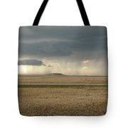 Light Near The End Of The Storm Tote Bag