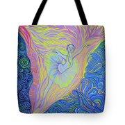 Light Of Inspiration Tote Bag