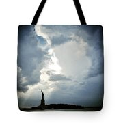 Light Of Liberty Tote Bag
