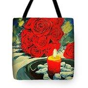 Light Of Love Tote Bag