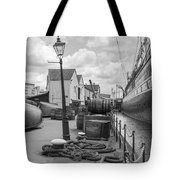 Light Of The Dock Tote Bag