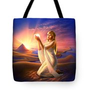 Light Of The Sands Tote Bag