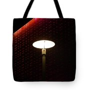 Light On At The Museum Tote Bag