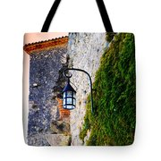 Light On Old Wall Tote Bag