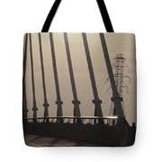 Light On The Bridge Tote Bag