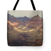 Light On The Canyons Tote Bag