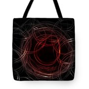 Light Painting 4 Tote Bag