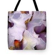 Light Purple Irises 2 Tote Bag