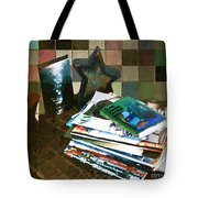 Light Reading Tote Bag