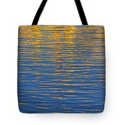 Light Reflections On The Water Tote Bag