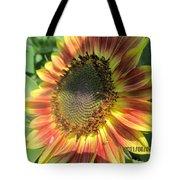 Light-shade Sunflower Tote Bag