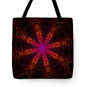 Light Show Abstract 4 Tote Bag
