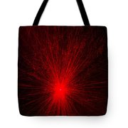 Light Show Abstract 6 Tote Bag